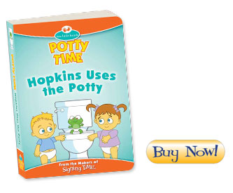 Hopkins Uses the Potty board book