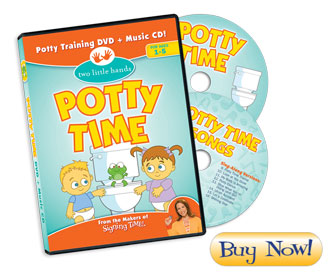 Potty Time DVD + Music CD