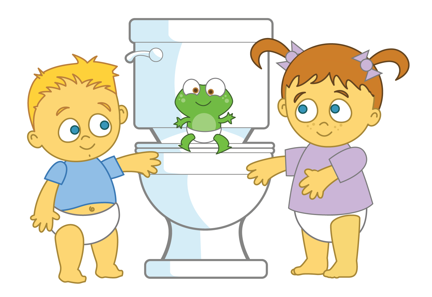 Potty Time characters