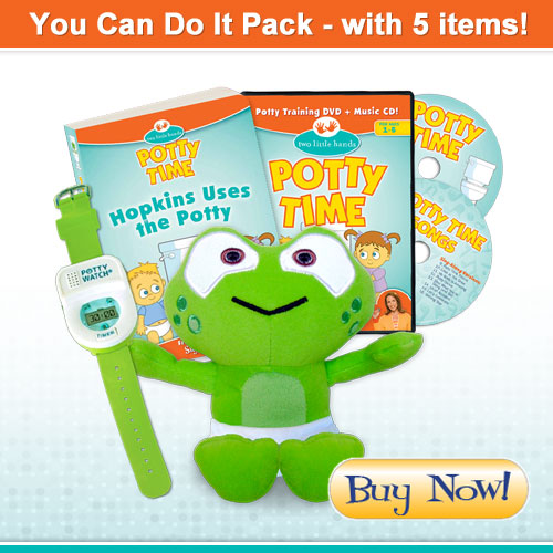Potty Time You Can Do It Pack with Baby Hopkins