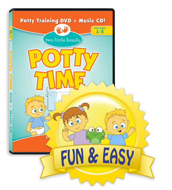 Potty Time DVD teaches ASL signs!