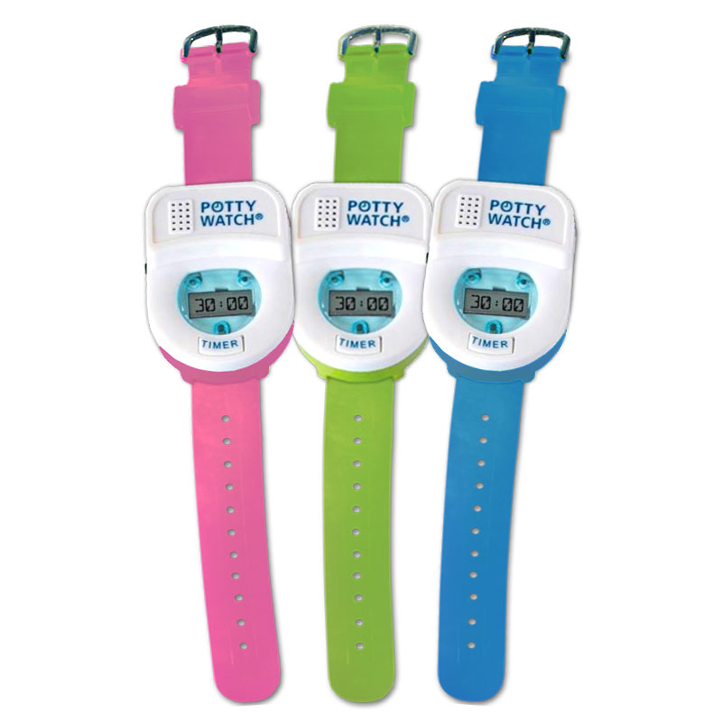 Potty Time Watch - choose from 3 colors!