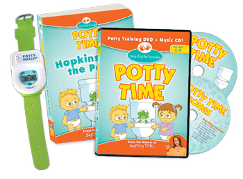 Potty Time You Can Do It Pack