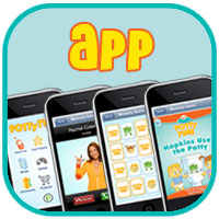 Get the Potty Time app for your Andriod, iPhone or iPad
