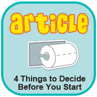 4 Things to Decide Before You Start Toilet Training
